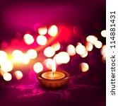 beautiful diwali vector... | Shutterstock .eps vector #114881431