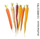 Colorful Rainbow Carrots...
