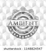 ambient realistic grey emblem... | Shutterstock .eps vector #1148824547