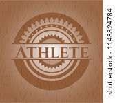 athlete wood signboards   Shutterstock .eps vector #1148824784