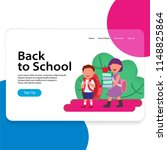back to school landing page web ...