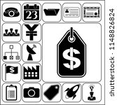 set of 17 business icons ...   Shutterstock .eps vector #1148826824