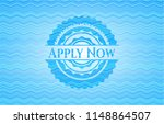 apply now water representation... | Shutterstock .eps vector #1148864507