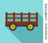 farm tow icon. flat... | Shutterstock .eps vector #1148872331