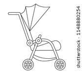 buggy icon. outline buggy...   Shutterstock .eps vector #1148880254