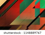 geometric background of... | Shutterstock . vector #1148889767