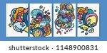 vector illustration abstract... | Shutterstock .eps vector #1148900831