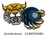 a wildcat angry animal sports... | Shutterstock .eps vector #1148920484