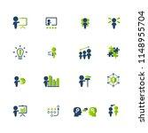 training. business training... | Shutterstock .eps vector #1148955704