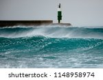 Offshore Windswept Crest Of A...