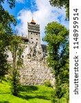 bran  romania  the bran castle  ... | Shutterstock . vector #1148959514