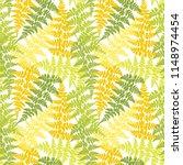 fern frond herbs  tropical... | Shutterstock .eps vector #1148974454