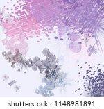 contemporary art. hand made art.... | Shutterstock . vector #1148981891