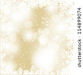 abstract beauty christmas and... | Shutterstock .eps vector #114899074