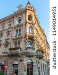 building in zagreb in croatia... | Shutterstock . vector #1149014951