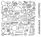 set of school elements.text...   Shutterstock .eps vector #1149037451