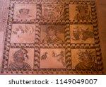 a floor mosaic inside of the... | Shutterstock . vector #1149049007