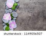 close up view of zen stones... | Shutterstock . vector #1149056507