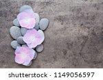 close up view of zen stones... | Shutterstock . vector #1149056597