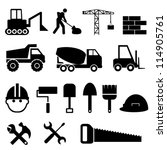 construction materials and... | Shutterstock .eps vector #114905761