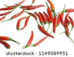 Chili Pepper Isolated On A...