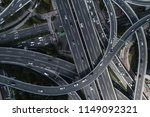 aerial view of highway and... | Shutterstock . vector #1149092321