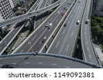 aerial view of highway and...   Shutterstock . vector #1149092381