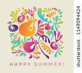 colorful carnival decorative... | Shutterstock .eps vector #1149094424