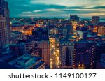 cityscape of detroit michigan... | Shutterstock . vector #1149100127