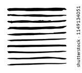 straight vector brush. hand...   Shutterstock .eps vector #1149134051