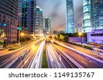 busy traffic road with city...   Shutterstock . vector #1149135767