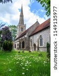 st mary's church  princes... | Shutterstock . vector #1149135977