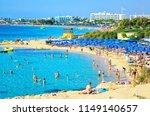 ayia napa  cyprus   october 26  ... | Shutterstock . vector #1149140657