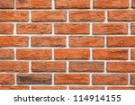 Background Red Wall Bricks Wit...
