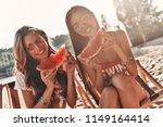 simply having fun. two... | Shutterstock . vector #1149164414