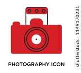 photography icon vector... | Shutterstock .eps vector #1149170231
