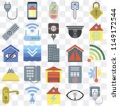 set of 25 icons such as plug ...