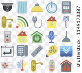 set of 25 icons such as smart...