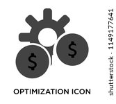 optimization icon vector... | Shutterstock .eps vector #1149177641