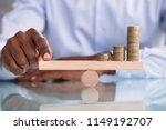 close up of a businessman... | Shutterstock . vector #1149192707