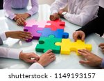 group of businesspeople... | Shutterstock . vector #1149193157