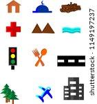 map legend set | Shutterstock .eps vector #1149197237