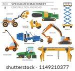 special industrial construction ... | Shutterstock .eps vector #1149210377