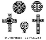 Set Of Vintage Irish Celtic...