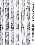 hand drawn striped pattern.... | Shutterstock . vector #1149220121