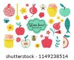 rosh hashanah  jewish new year  ...   Shutterstock .eps vector #1149238514