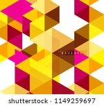 multicolored triangles abstract ... | Shutterstock .eps vector #1149259697