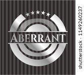 aberrant silver emblem   Shutterstock .eps vector #1149260237