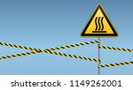 safety sign. caution   danger ... | Shutterstock .eps vector #1149262001