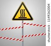 safety sign. caution   danger ... | Shutterstock .eps vector #1149262004